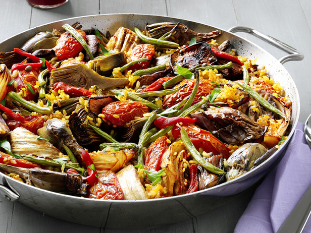Vegetatable Paella