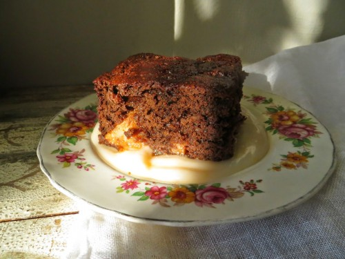 Gingerbread Pudding Cake from Jude Blereau's Wholefood Cooking