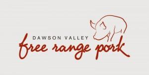 Dawson Valley FR Pork Logo