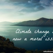 Climate change is now a moral issue