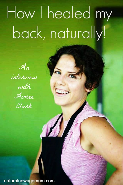 How I healed my back, naturally!