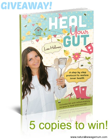 Heal Your Gut! 5 copies to win!