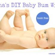Sasha's DIY Baby Bum Wipes