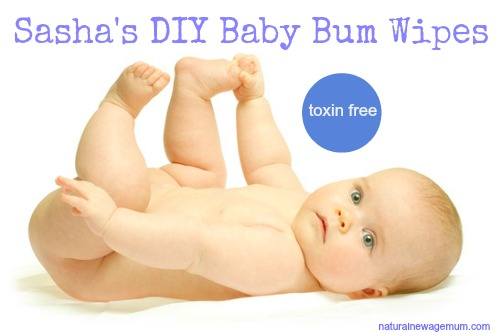 Sasha's DIY Baby Bum Wipes