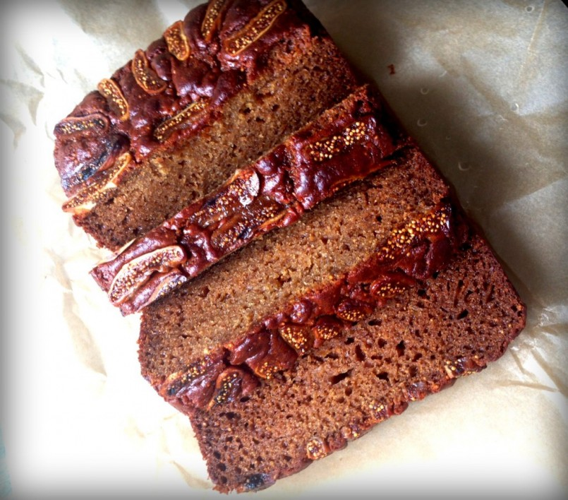 Fig and Ginger Cake