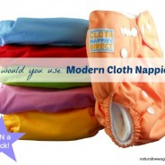 Why would you use Modern Cloth Nappies ?? (and a giveaway)
