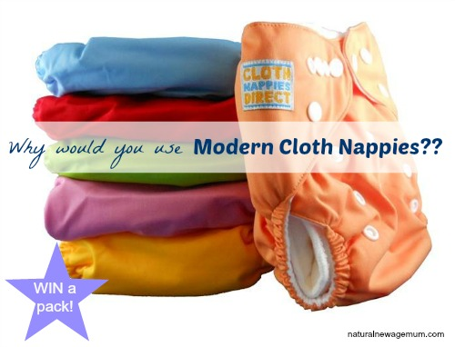 Why would you use Modern Cloth Nappies ??