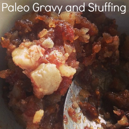 Paleo Gravy and Stuffing