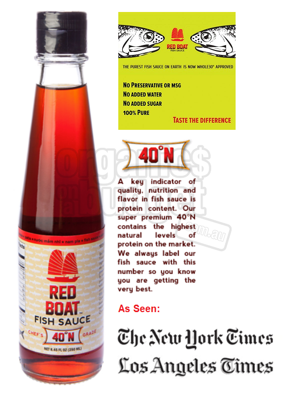 Red Boat Fish Sauce - OOAB