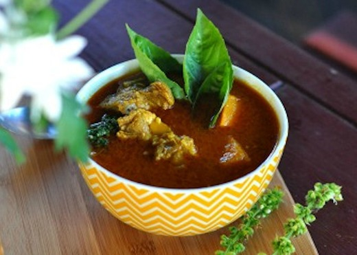 Goat Curry with Nourishing Broth by Changing Habits
