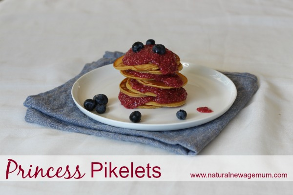 Princess Pikelets (and a giveaway)