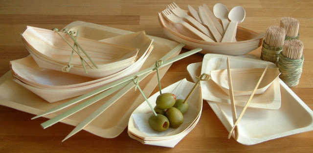 biodegradable catering