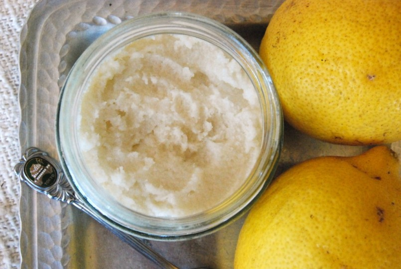 Raw Lemon Coconut Butter by Jules Galloway