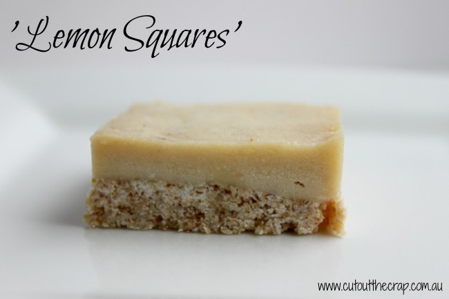 Lemon Squares by Cut out the Crap
