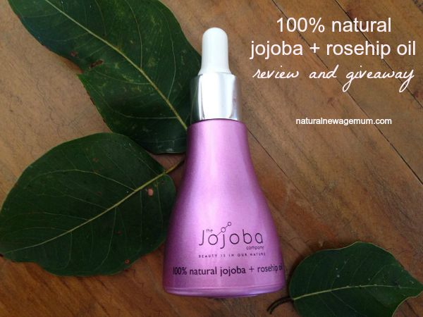 100% Jojoba + Rosehip Oil Review and Giveaway