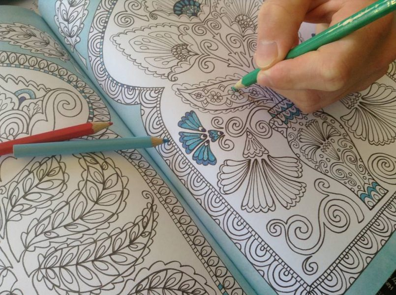 Adult Colouring In: It's a thing and it's good for you!