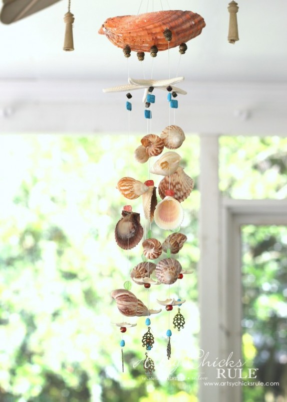 DIY-Seashell-Wind-Chime-Shells-and-Beads-windchime-artsychicksrule-600x839