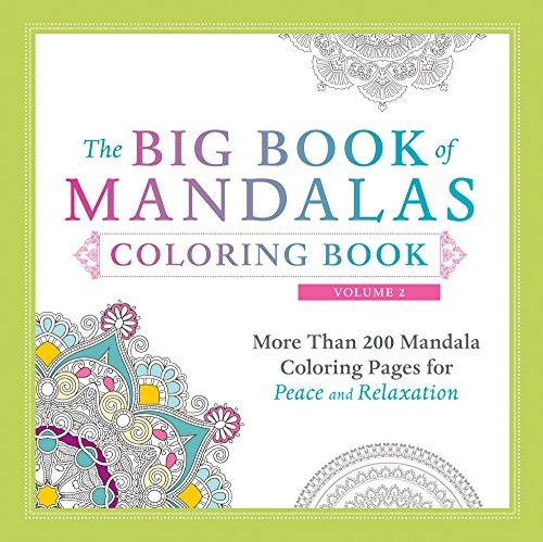 The Big Book of Mandalas Colouring Book
