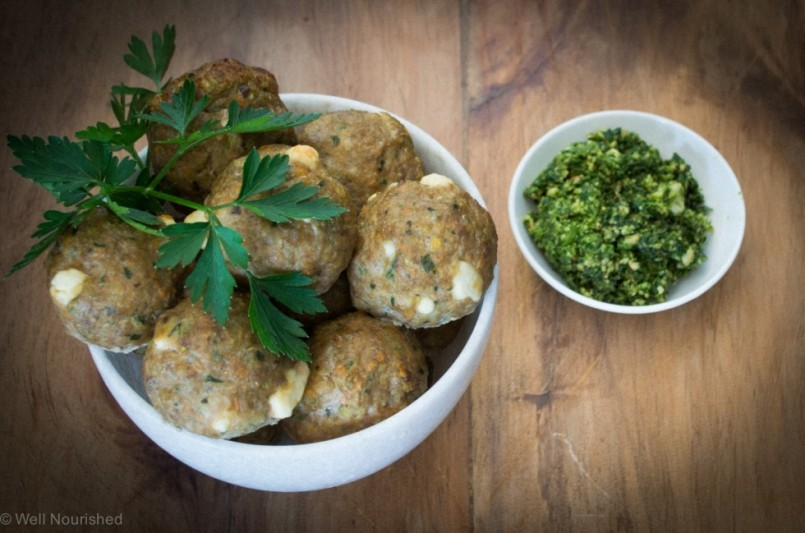 Turkey Meatballs by Well Nourished