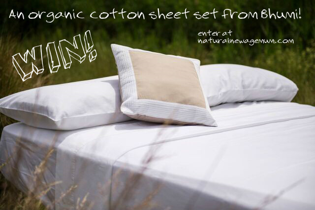 Bhumi Organic Cotton Sheet Set Giveaway