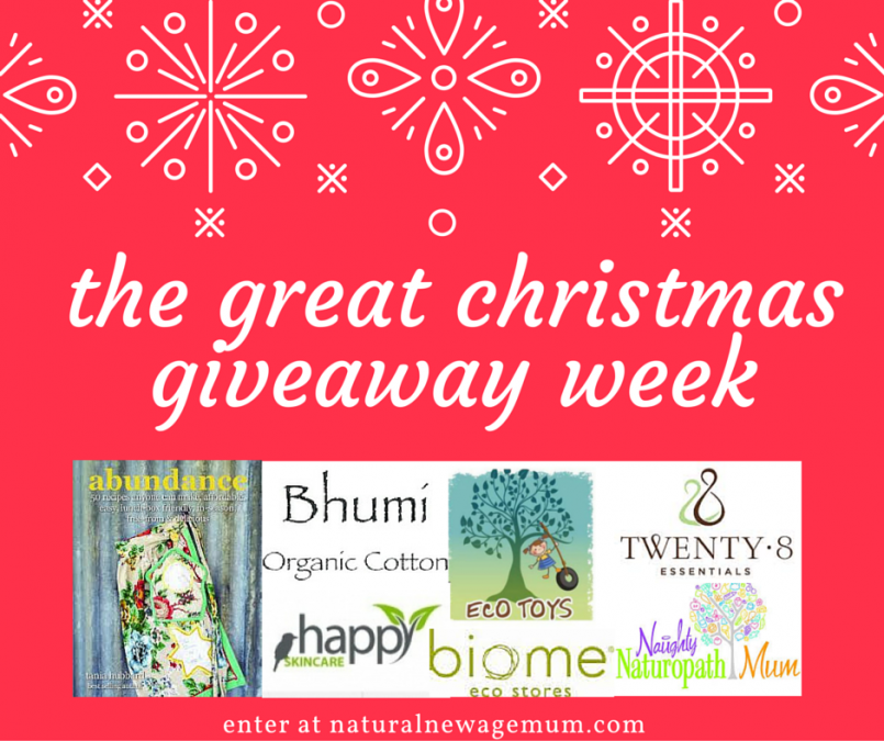 the great Christmas giveaway week