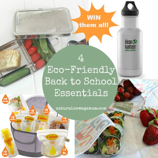 4 Eco Friendly Back to School Essentials (plus win them all!)