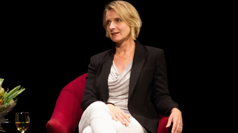 A night out with Elizabeth Gilbert