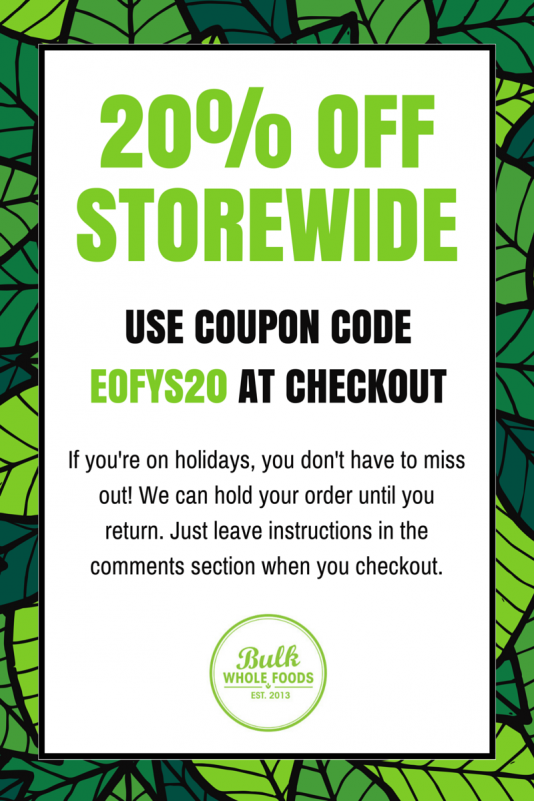 Bulk Whole Foods sale