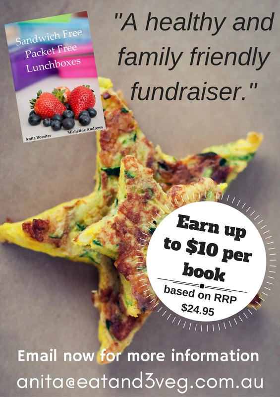 Healthy Lunchbox Cookbook Fundraiser
