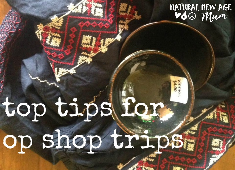 top tips for op shop trips