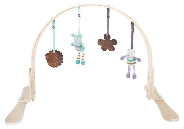 Finn and Emma Wooden Baby Gym