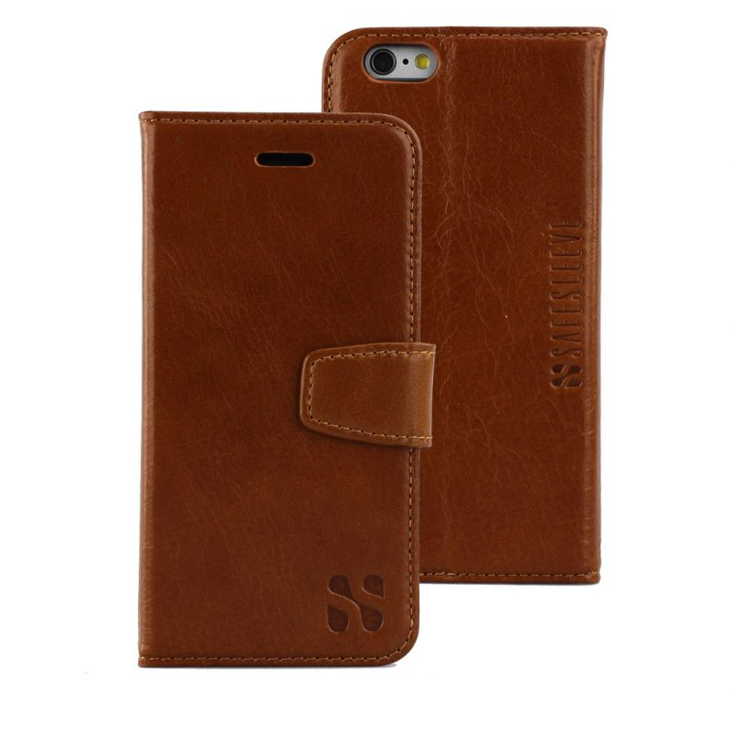 Safe Sleeve Leather Phone Case and Wallet