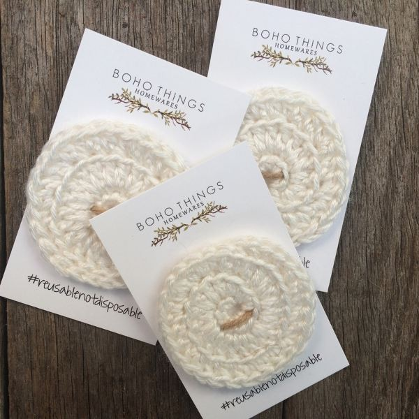 Boho face scrubbies