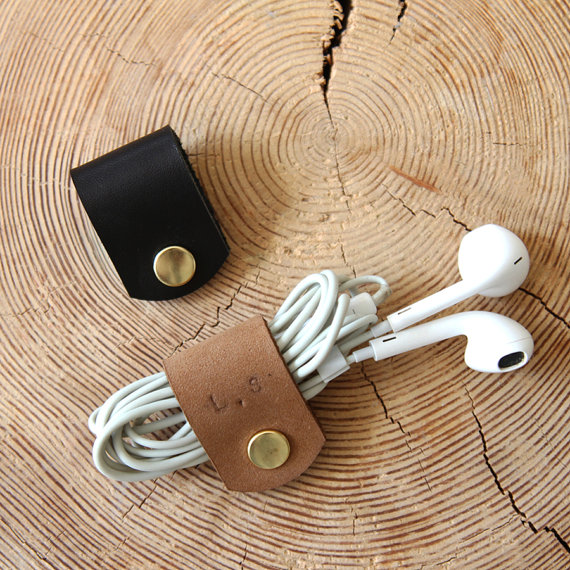 Leather Headphone Holder