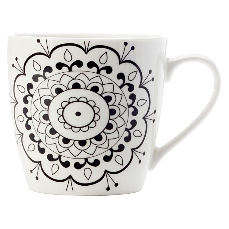 Mindful Mandala Mug