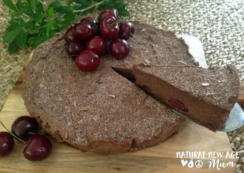 Chocolate Cherry Tart (Gluten Free, Dairy Free)