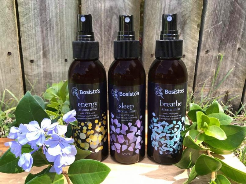 Introducing… Bosisto's Aromatherapy Mists
